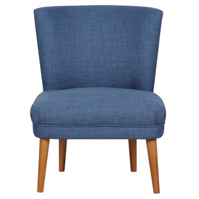 Elly Slipper Chair Upholstery Color: Dexter Navy