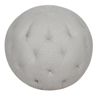 Balloon Ottoman Upholstery Color: Depalma Taupe