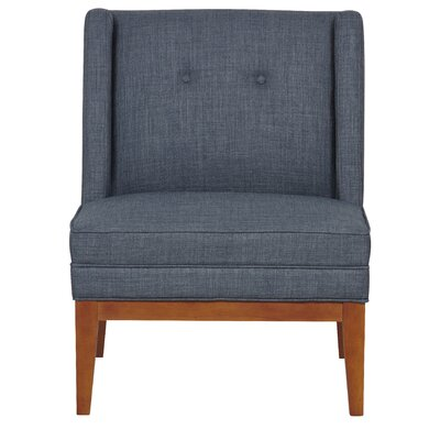 Astrid Slipper Chair Upholstery Color: Dexter Licorice
