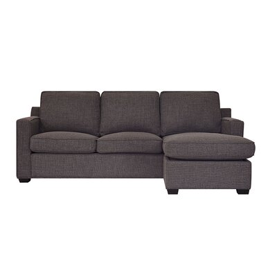 Brungardt Reversible Sectional Upholstery: Earth
