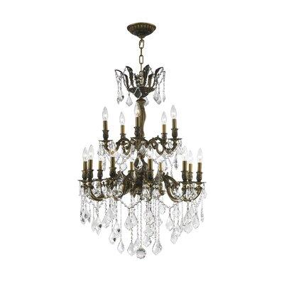 15-Light Crystal Chandelier