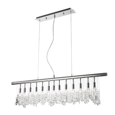 13-Light Kitchen Island Pendant