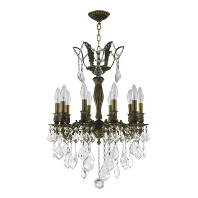 Weisser 10-Light Crystal Chandelier