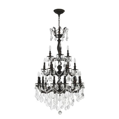 Weisser 21-Light Crystal Chandelier