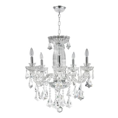 Cordella 5-Light Crystal Chandelier