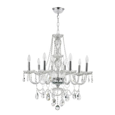 Cordella 8-Light Crystal Chandelier