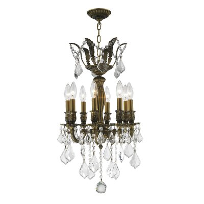 Weisser 8-Light Crystal Chandelier with Hardwired