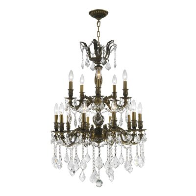 Weisser 15-Light Crystal Chandelier