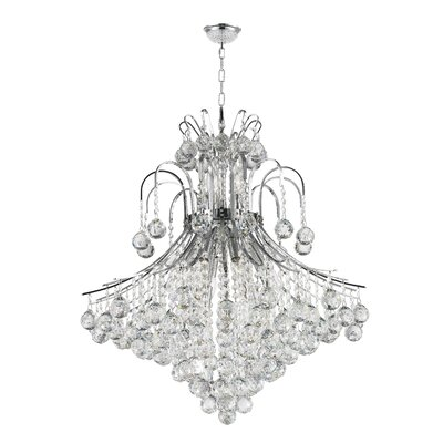 Kinne 15-Light Crystal Chandelier