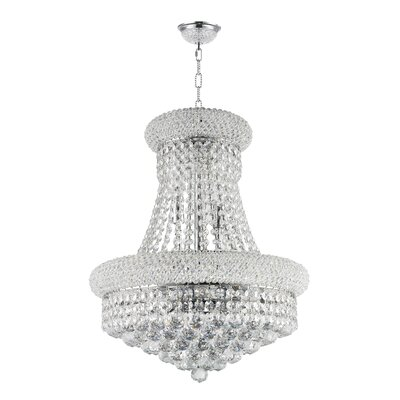 8-Light Empire Chandelier Finish: Empire Chrome