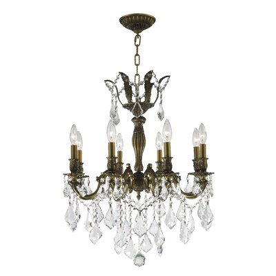 8-Light Crystal Chandelier