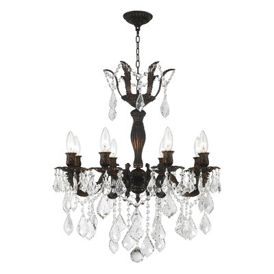 Weisser 8-Light Crystal Chandelier
