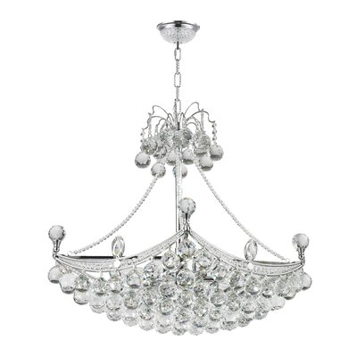 Kinnard 6-Light Crystal Chandelier