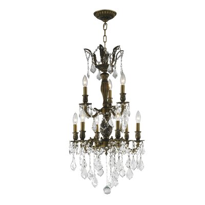 Weisser 9-Light Crystal Chandelier