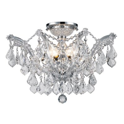 Atwell 6-Light Semi Flush Mount