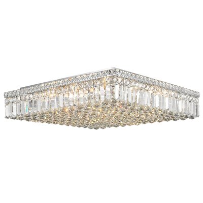 Boshears 13-Light Flush Mount