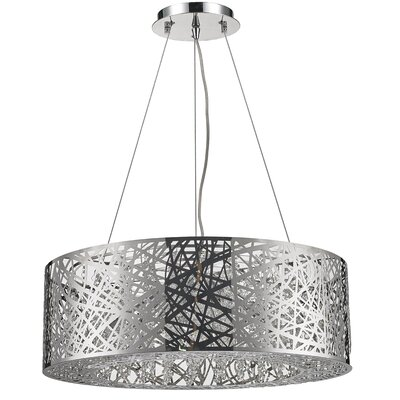 Chasse 12-Light Drum Pendant