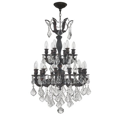 Reba 2 Tier 18-Light Candle-Style Chandelier