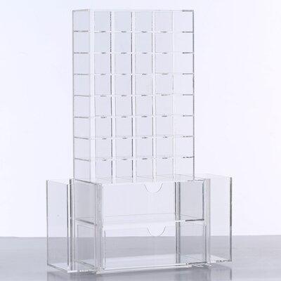 All in One Premium Cosmetic Organizer Unit Color: Clear COM061-C