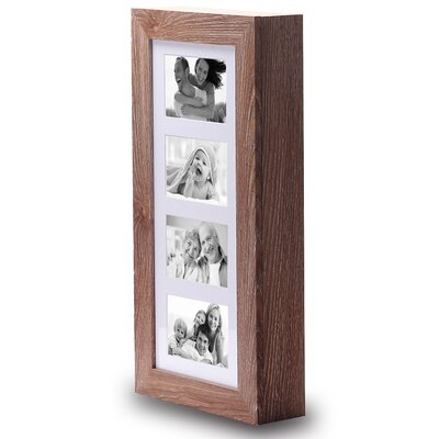 Wall Mounted Jewelry Armoire with Mirror Finish: Walnut