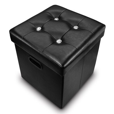 Brookman Folding Storage Ottoman