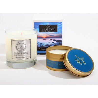 2 Piece Coastal Breeze Jar Candle Set 11-COBZTS-16
