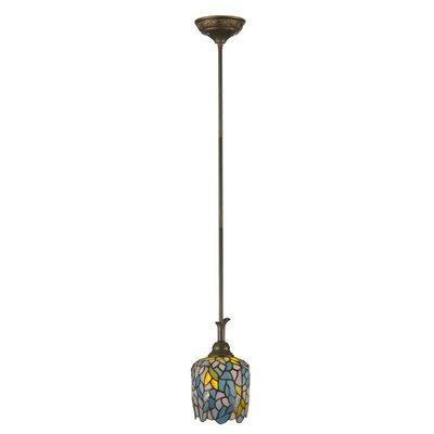 Wisteria Tiffany 1-Light Mini Pendant