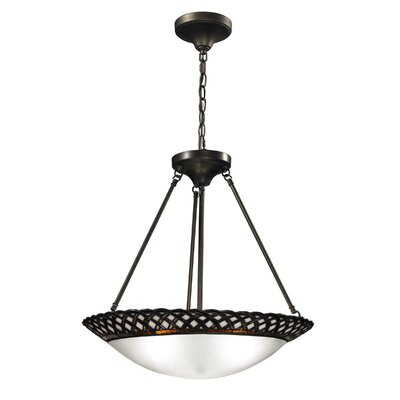 Hillcrest 3-Light Bowl Pendant