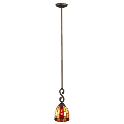 Baroque 1-Light Mini Pendant