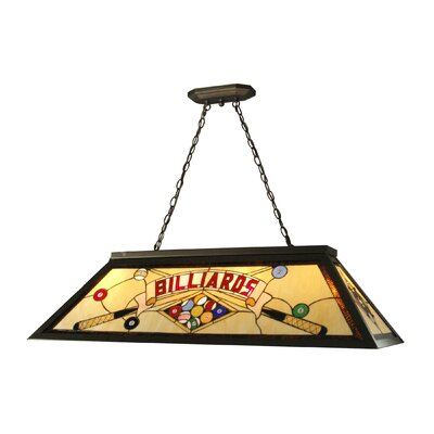 Billards 4-Light Pool Table Light