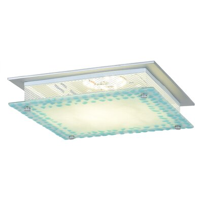 Sherman 1-Light Flush Mount