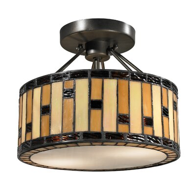 Mojave 2-Light Semi Flush Mount