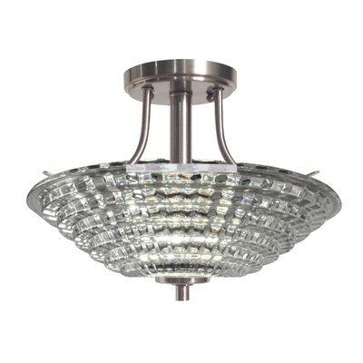Wendy 1-Light Semi Flush Mount