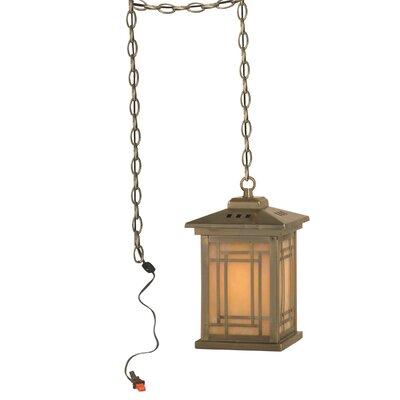 Mission Lantern 1-Light Mini Pendant