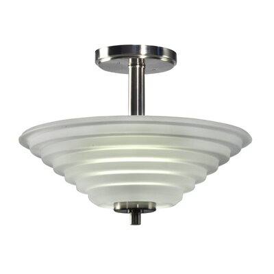 Soloman 1-Light Semi Flush Mount