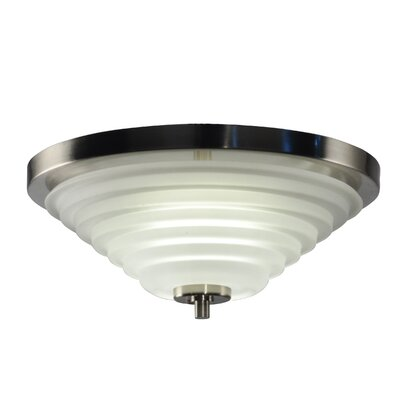 Soloman 1-Light Flush Mount