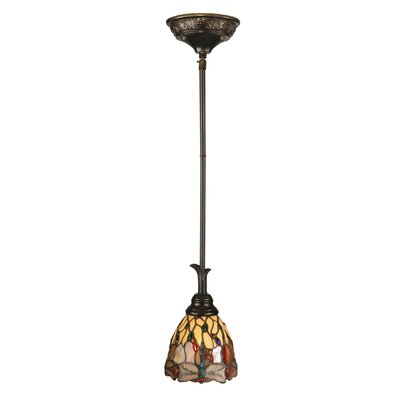 Corrall Dragonfly 1-Light Mini Pendant