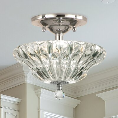Meridith 3-Light Semi Flush Mount