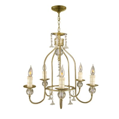 Shawnee 5-Light Candle-Style Chandelier
