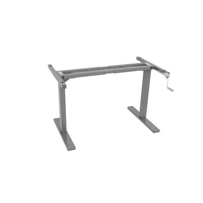 45 H x 66 W Desk Base Finish: Gray