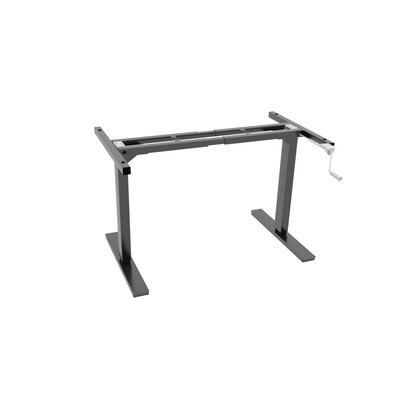 45 H x 66 W Desk Base Finish: Black