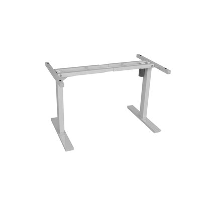 45 H x 66 W Desk Base Finish: White