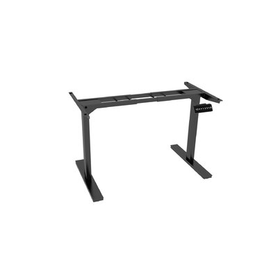 45.5 H x 64 W Desk Base Finish: Black