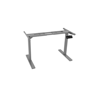 45.5 H x 64 W Desk Base Finish: Gray
