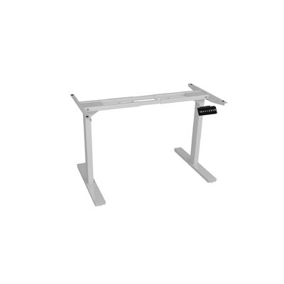 45.5 H x 64 W Desk Base Finish: White