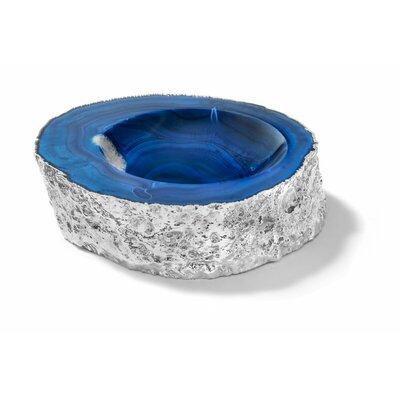 Casca Azure Bowl Color: Silver