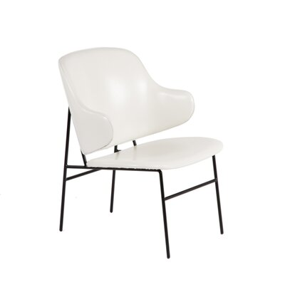 Barrett Side Chair Upholstery: White