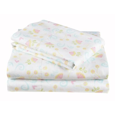 Sugar Coated Cotton Sheet Set Size: Full