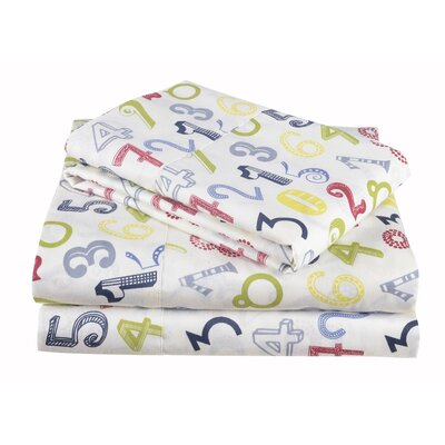 Preppy Plaid Cotton Sheet Set Size: Twin