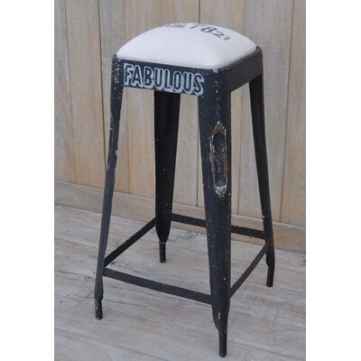 27 Bar Stool With Cushion